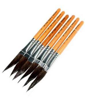 Dagger Liner Brushes: No. 2